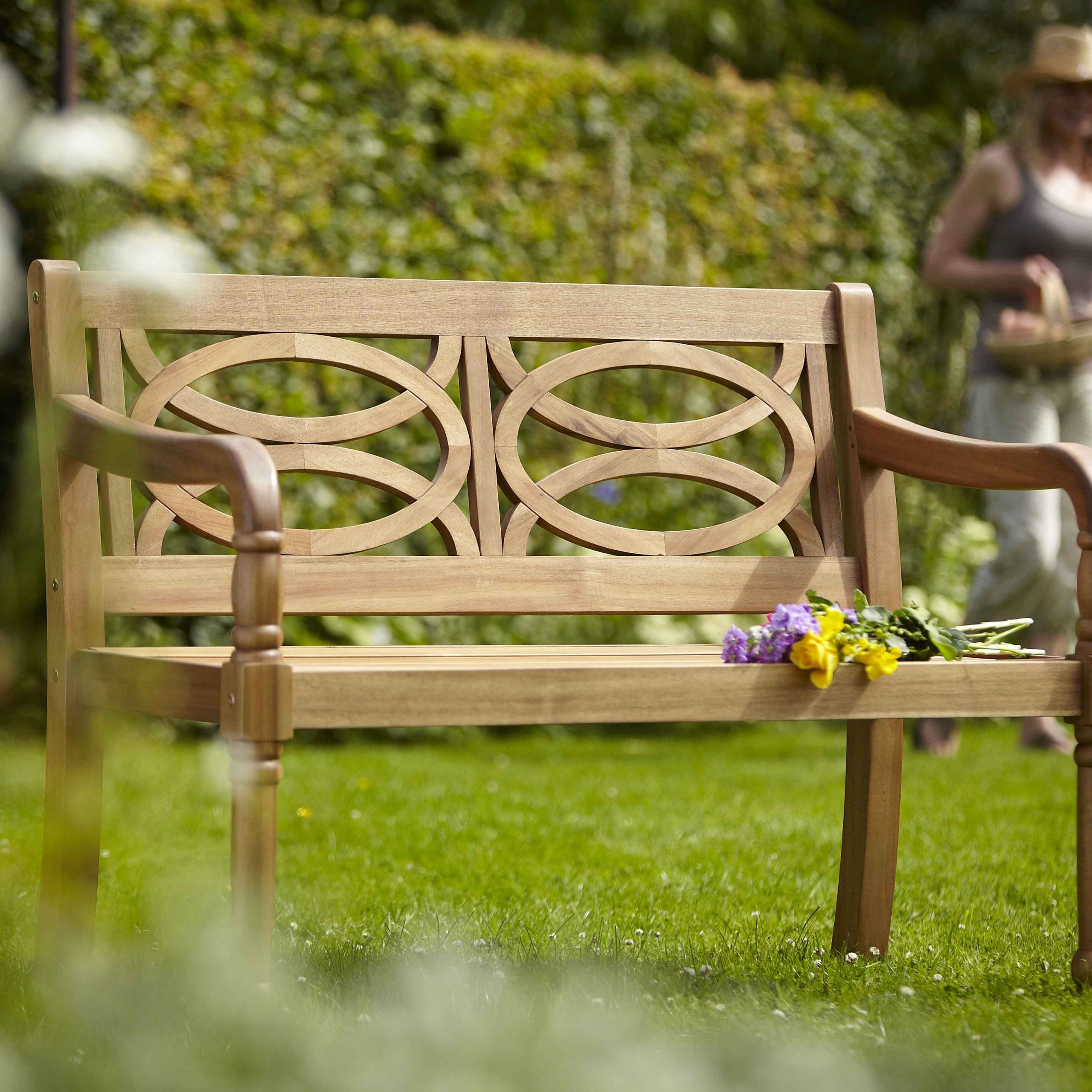 Garden Benches For Sale, Wooden (View 18 of 30)