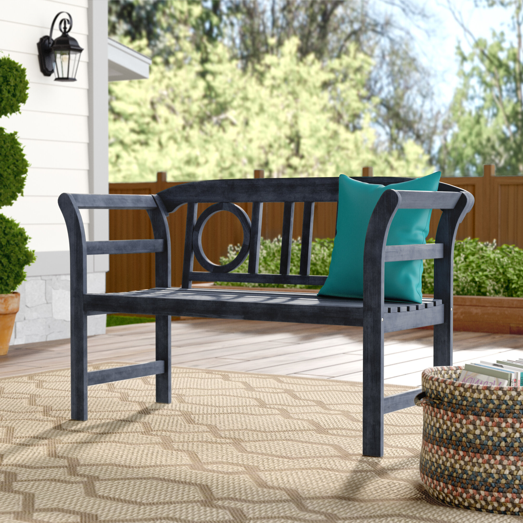 Guyapi Garden Benches In Widely Used Brinwood 2 Seat Wooden Garden Bench (View 16 of 30)