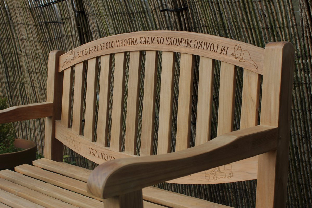 Hampstead Heath Teak Garden Benches Within Most Up To Date Memorialbenches Hashtag On Twitter (View 29 of 30)