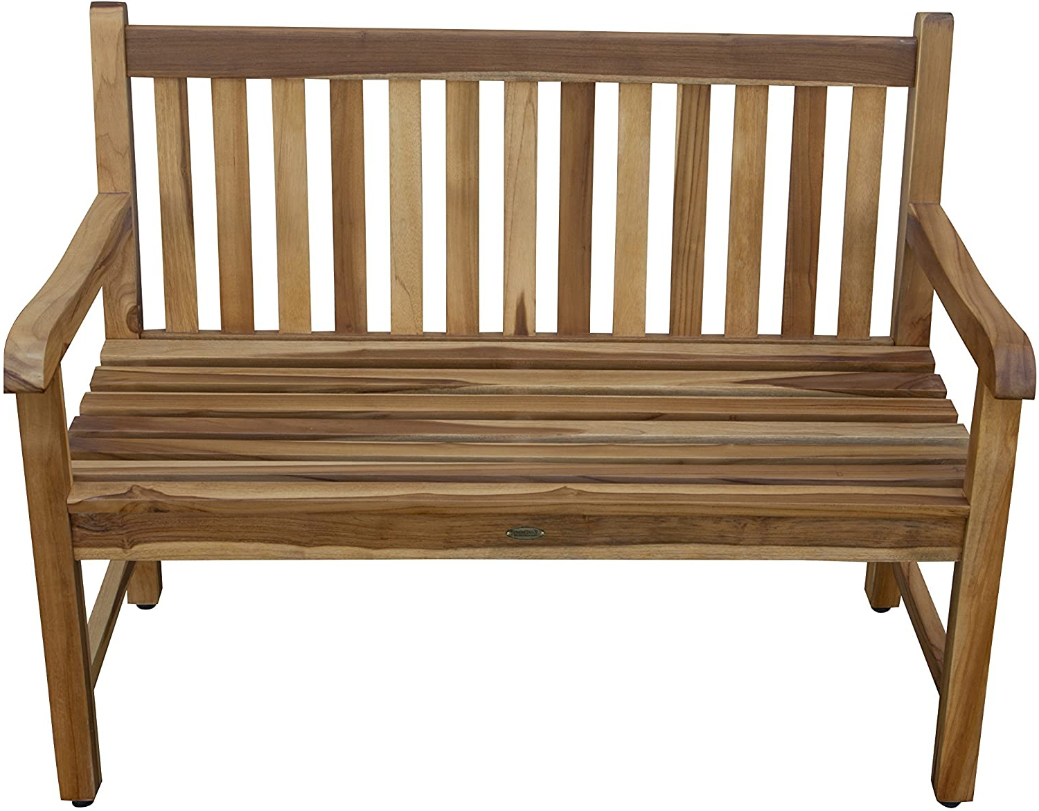 Hampstead Teak Garden Benches Intended For Well Known Ecodecors Od 1304 Hampstead Heath Garden Outdoor Bench, 47x26x36, Natural Teak (View 8 of 30)