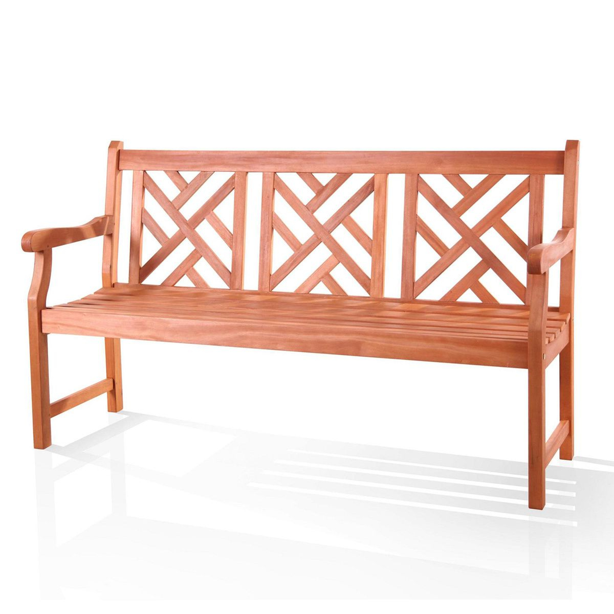 Harpersfield Wooden Garden Benches In Favorite Online Shopping – Bedding, Furniture, Electronics, Jewelry (View 17 of 30)