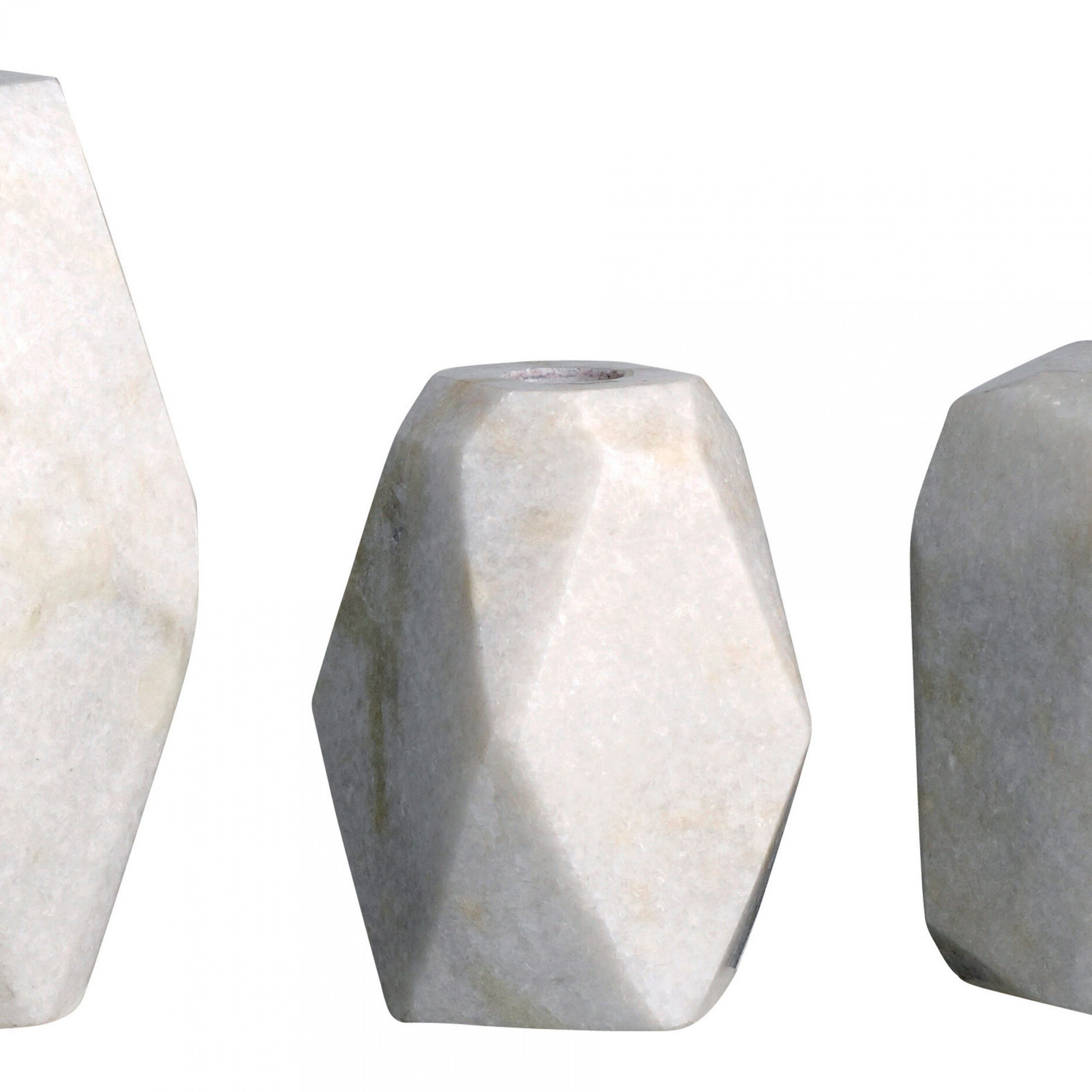 Harwich Ceramic Garden Stools Throughout Most Current Harwich 3 Piece Stone Candlestick Set (View 16 of 30)