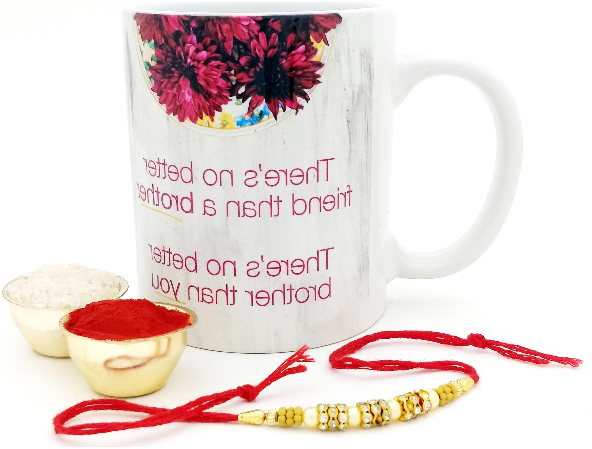 Hot Muggs Rakhi Gift – There's No Better Friend Than Brother Ceramic Mug Rakhi For Widely Used Brode Ceramic Garden Stools (View 25 of 31)