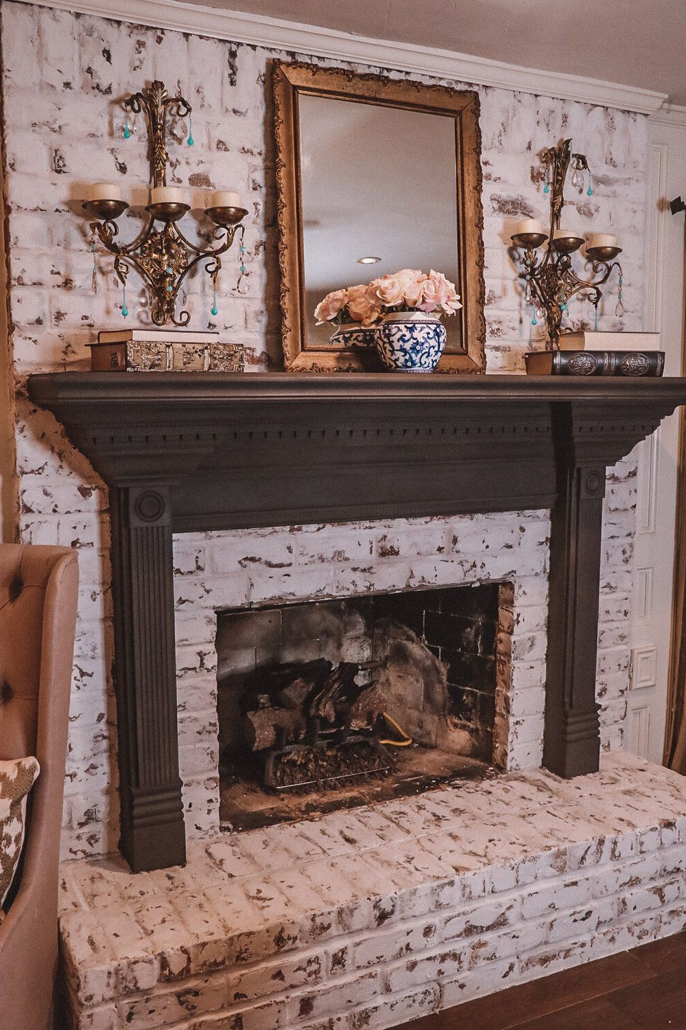 How To German Smear Your Fireplace Diy The B Hive Blog Home Pertaining To Most Popular Canarsie Ceramic Garden Stools (View 29 of 30)