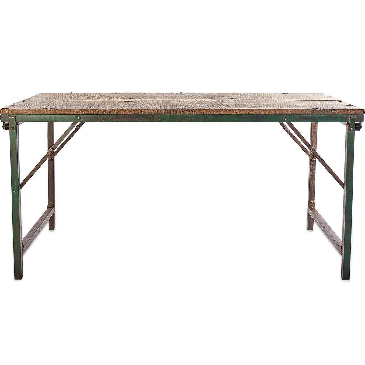 Ishan Reclaimed Folding Dining/coffee Table With Regard To Trendy Ishan Steel Park Benches (View 24 of 30)