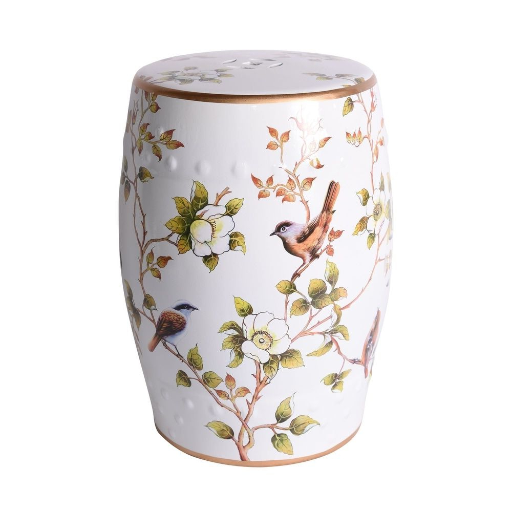 Janke Floral Garden Stools In Popular Overstock: Online Shopping – Bedding, Furniture (View 30 of 30)