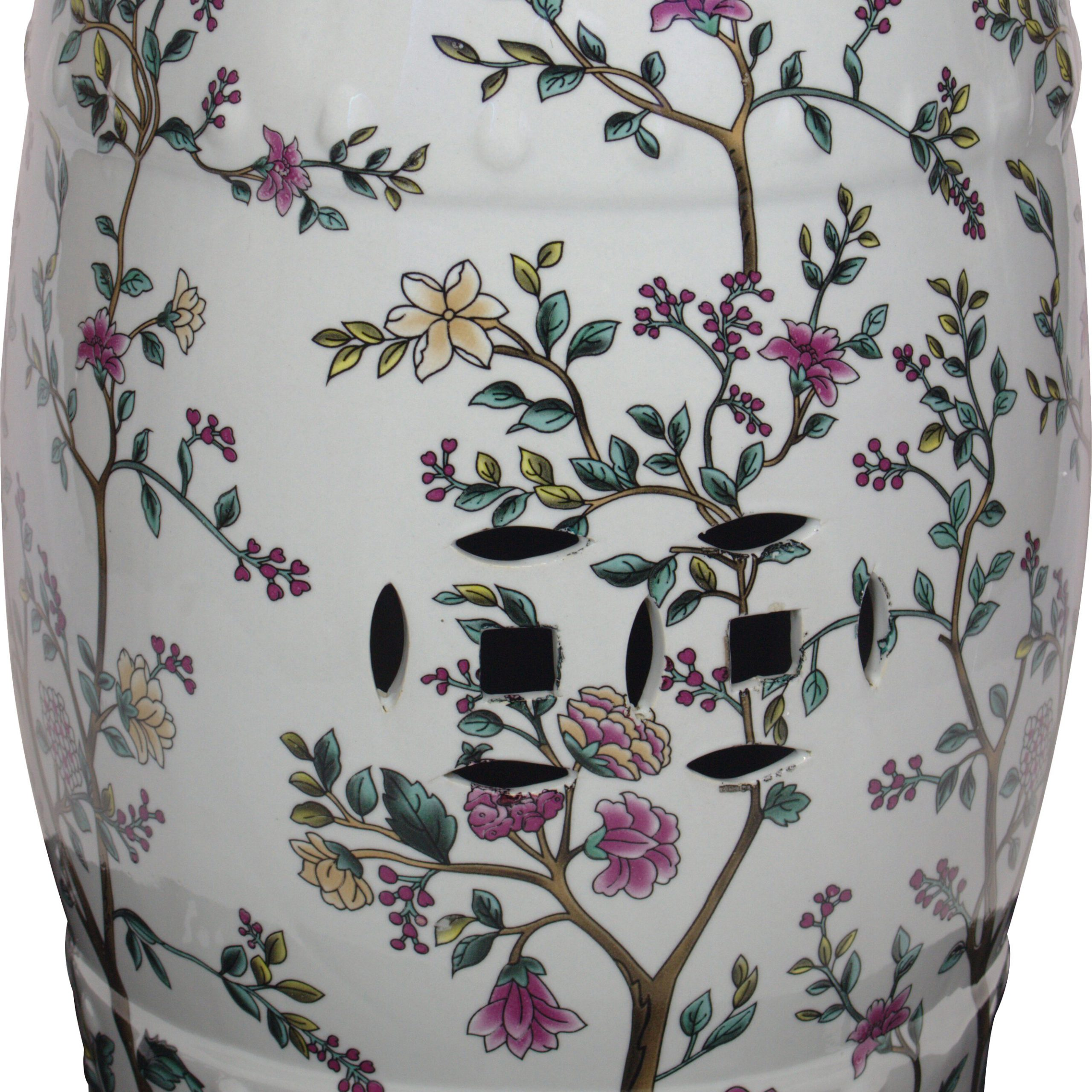 Janke Floral Garden Stools Regarding Trendy End Tables Bedroom Accent Stools (View 16 of 30)