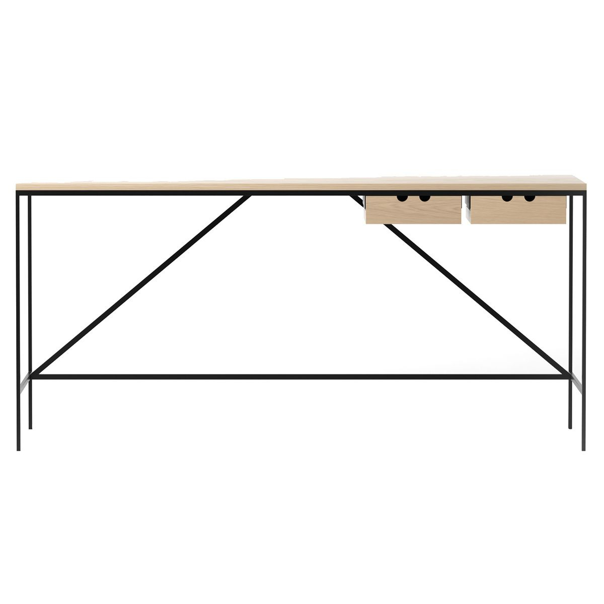 Karakter's 1595 Desk Adds A Dash Of Minimalist Elegance To Inside Most Up To Date Ossu Iron Picnic Benches (View 29 of 30)