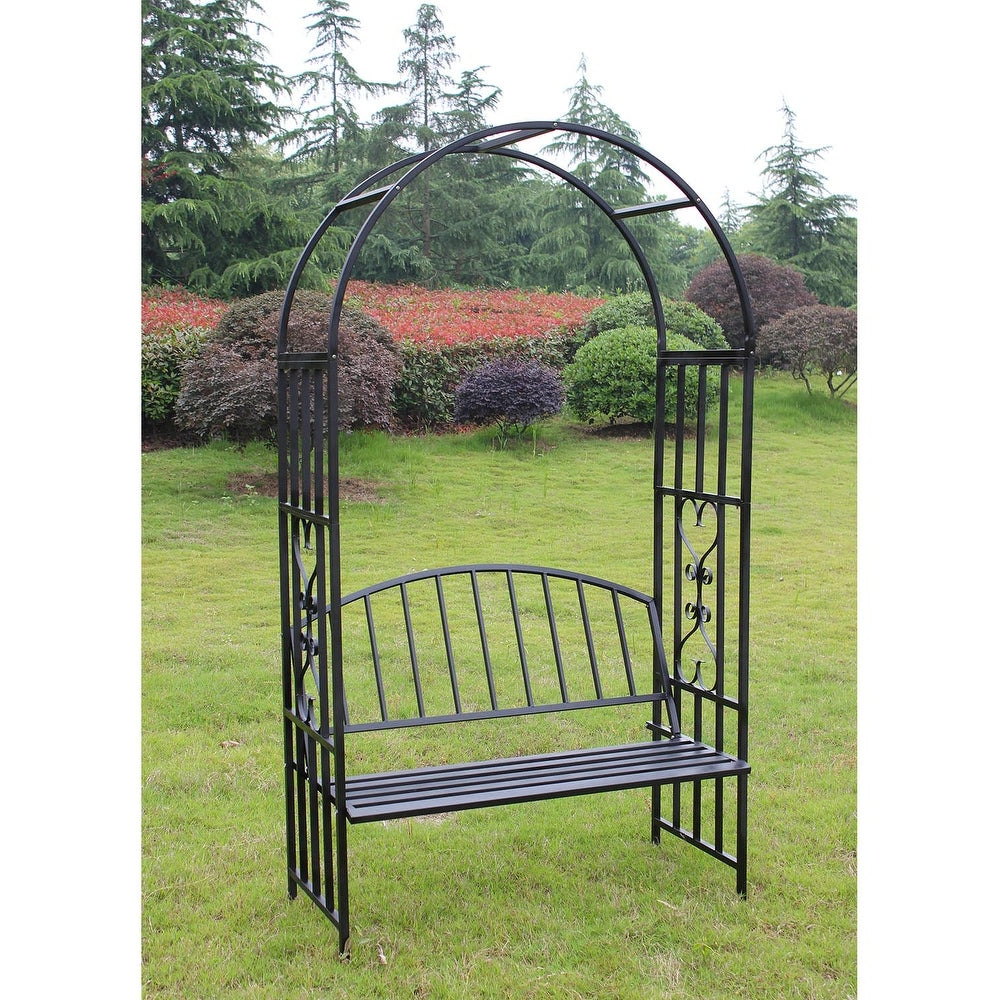 Kinborkinbor Manufactured Wood Shower Bench Rdst001 Size: 17 Regarding Well Liked Madeline Vintage Bird Cast Iron Garden Benches (View 29 of 30)