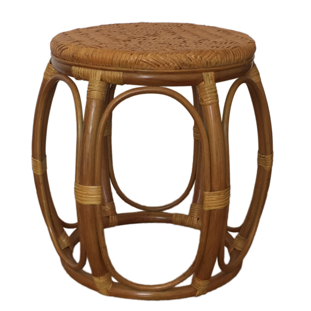 Larry Rattan Wicker Garden Stool Pertaining To Most Current Glendale Heights Birds And Butterflies Garden Stools (View 15 of 30)
