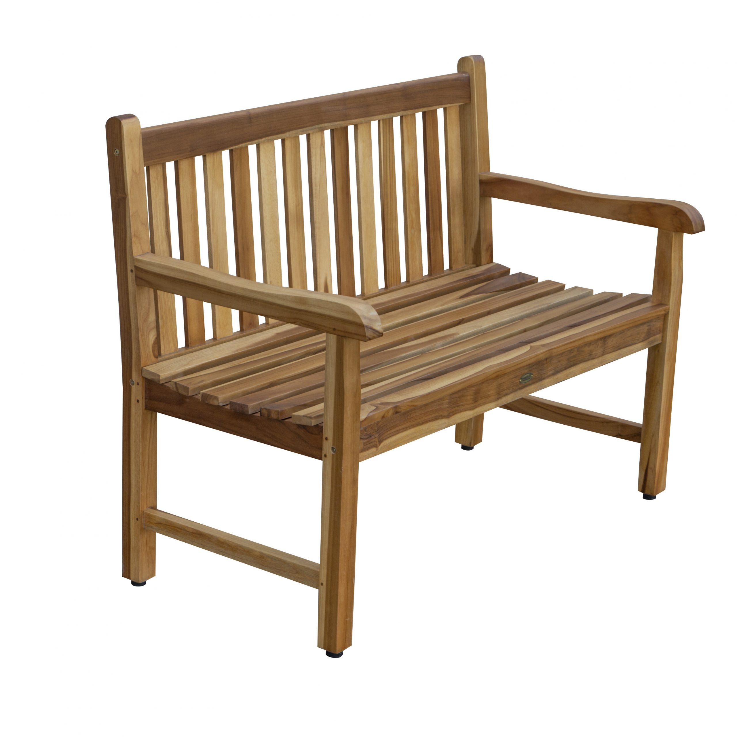 Latest Brecken Teak Garden Benches In Teak Wood Outdoor Benches You'll Love In (View 1 of 30)