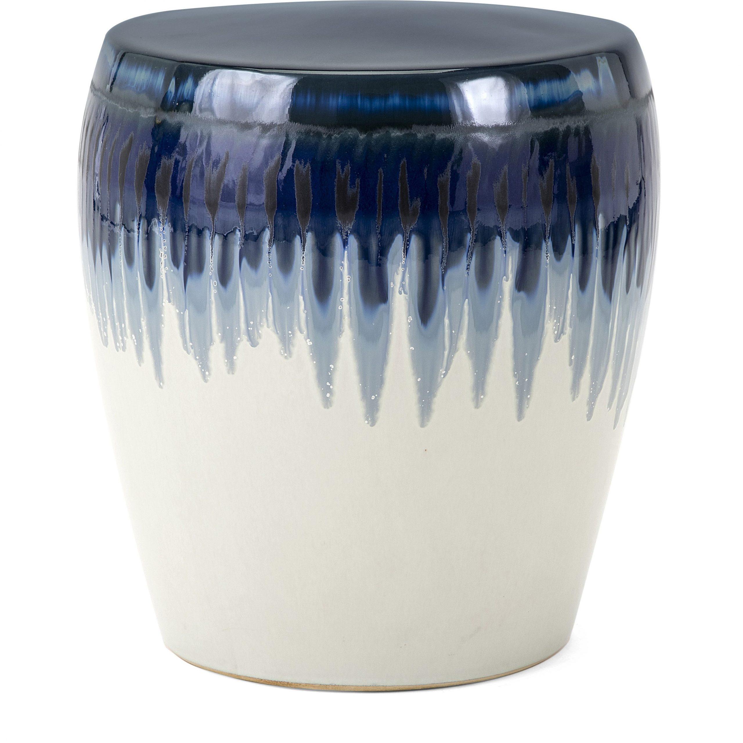 Latest Hamako Ceramic Garden Stool Imax Imax  (View 20 of 30)