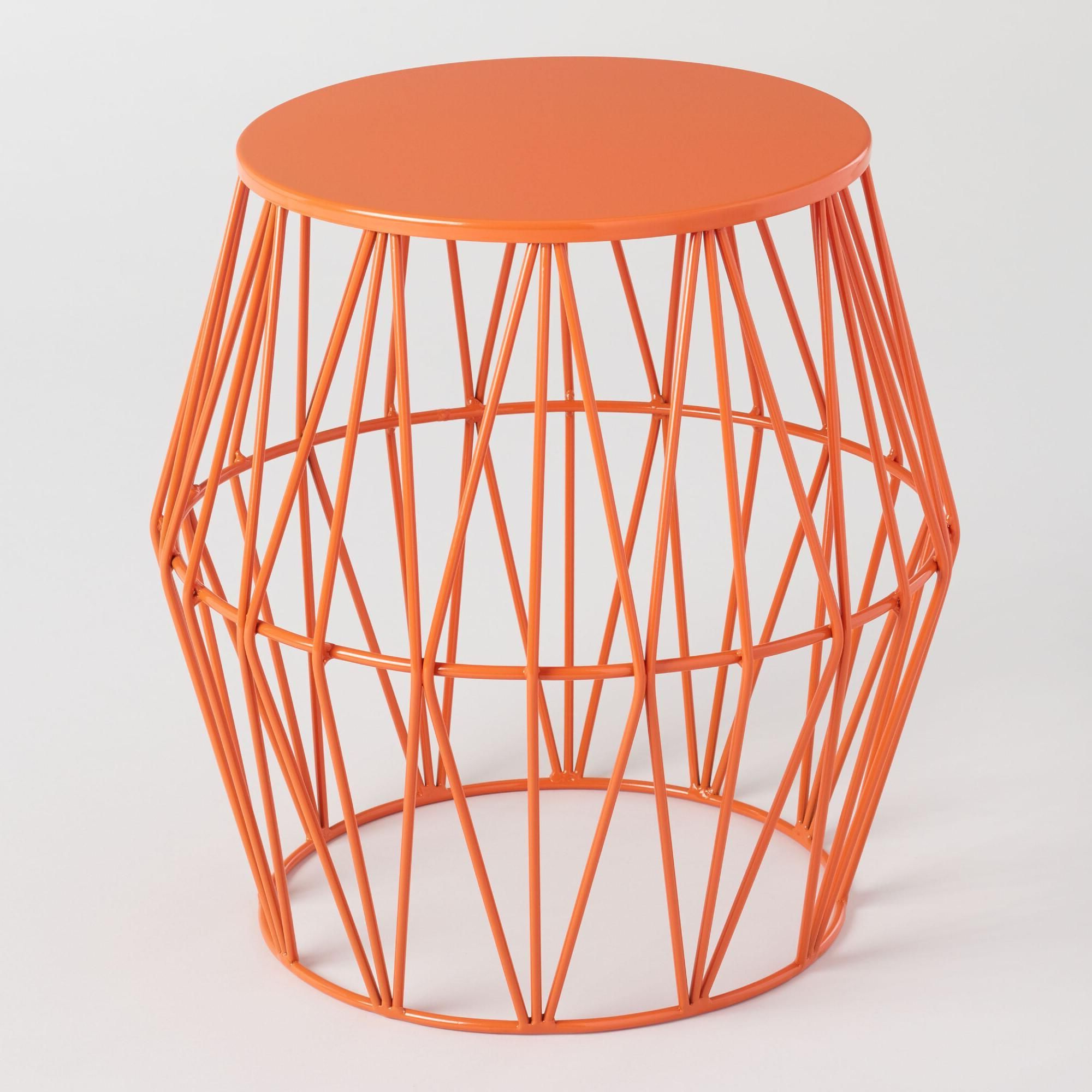 Latest Ossu Iron Picnic Benches Inside Black Octavia Faceted Outdoor Stool (View 30 of 30)