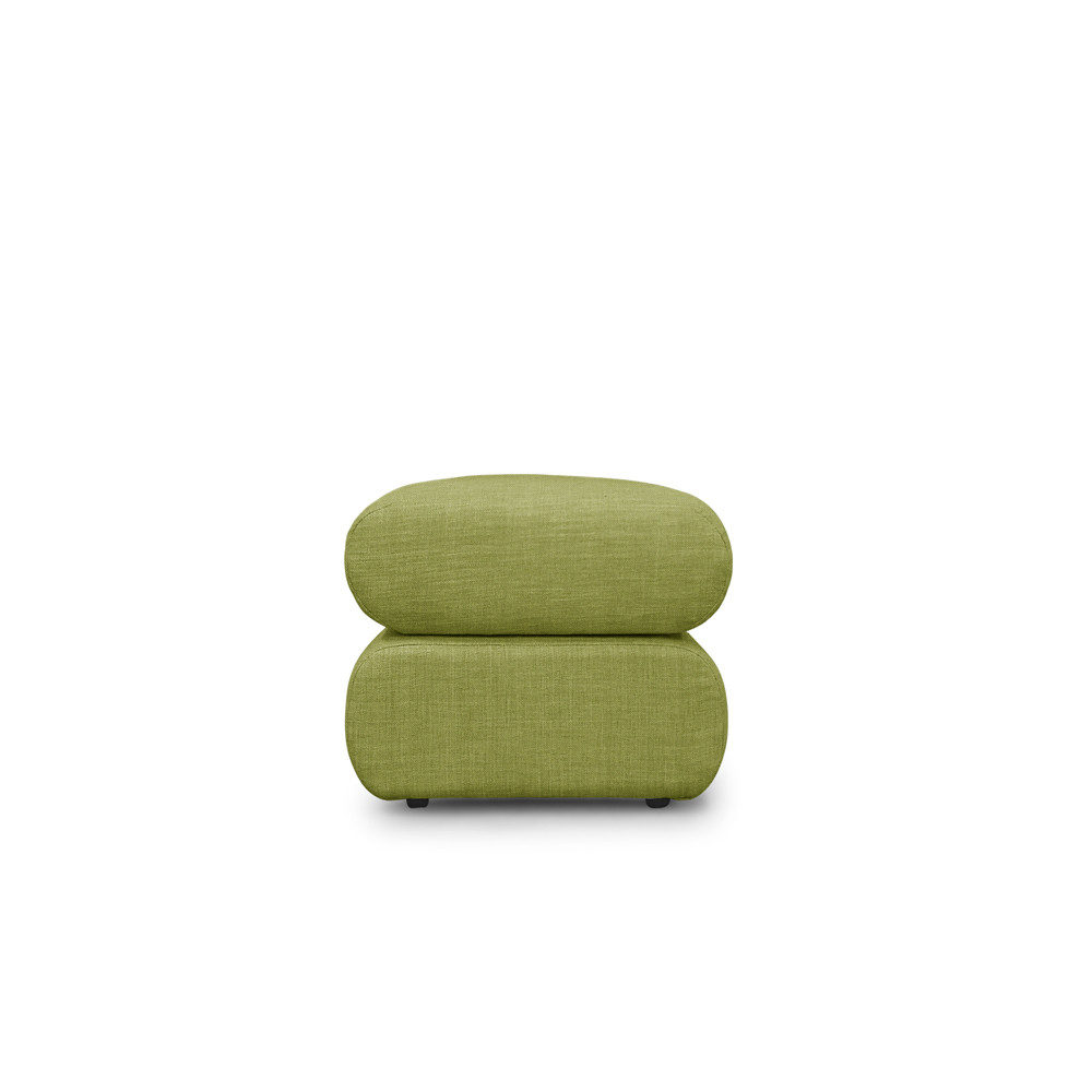 Latest Sibbi Glider Benches With Neo Ottoman – Green (View 20 of 30)