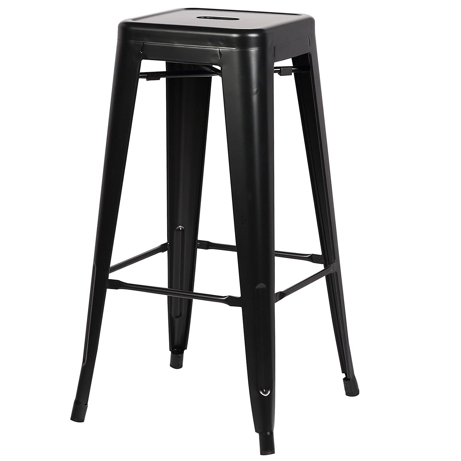 Latest Weir Garden Stools Regarding Poly And Bark Trattoria 30 Inch Counter Height Industrial (View 20 of 30)