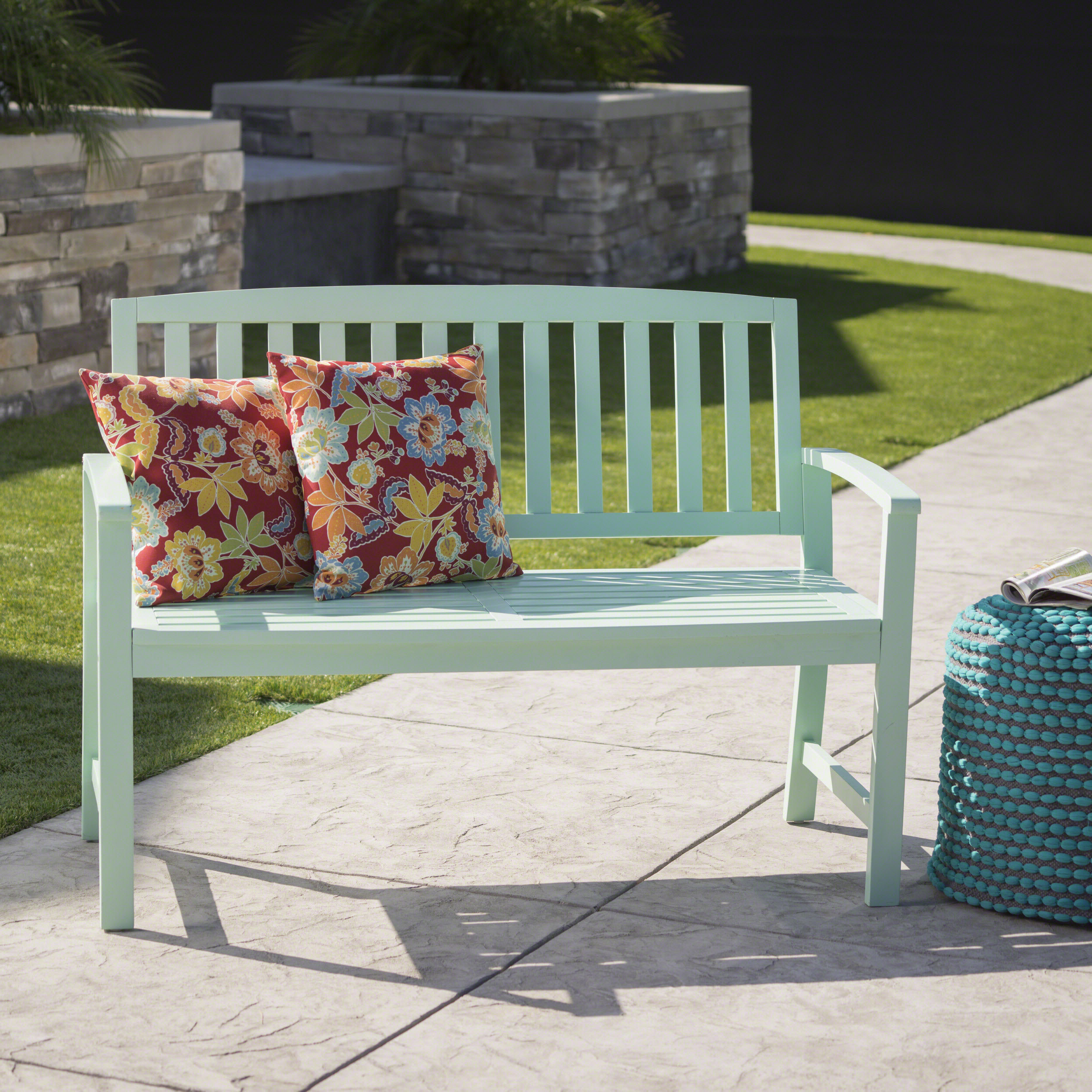 Leora Wooden Garden Bench With Regard To 2019 Avoca Wood Garden Benches (View 10 of 30)