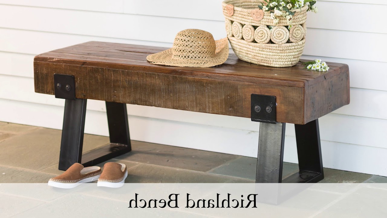 Leora Wooden Garden Benches Throughout Favorite The Best Garden Benches Reviewed In  (View 13 of 30)
