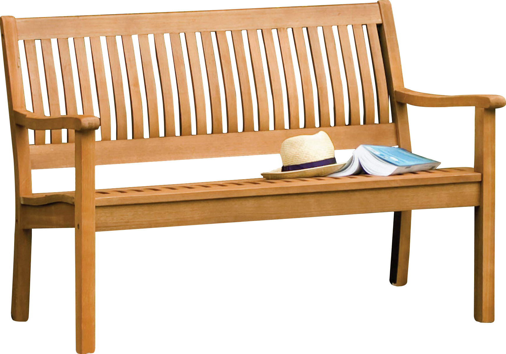 Linntown Garden Bench With Most Current Alfon Wood Garden Benches (View 11 of 30)