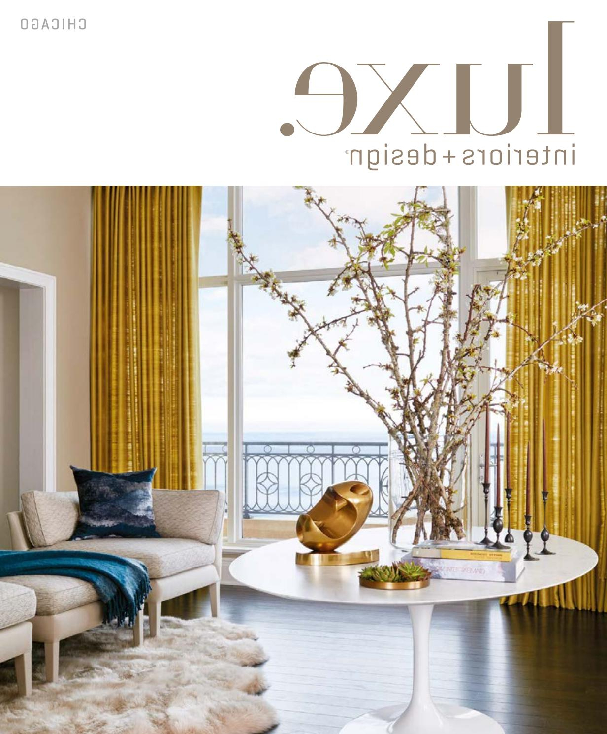 Luxe Magazine July/august 2017 Chicagosandow® – Issuu With Popular Glendale Heights Birds And Butterflies Garden Stools (View 18 of 30)