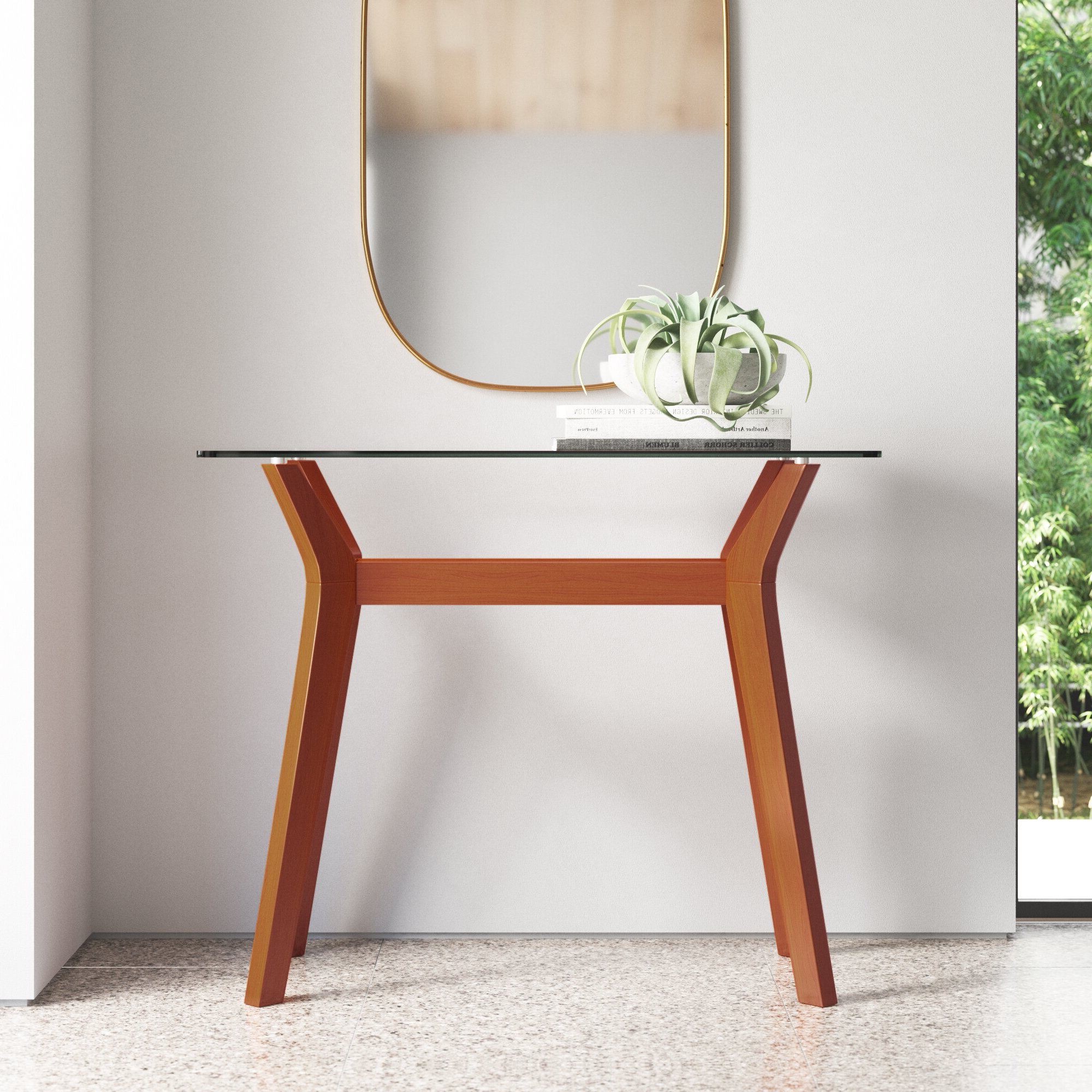 """Maliyah 39"""" Console Table With Regard To Newest Maliyah Wooden Garden Benches (View 30 of 30)"""