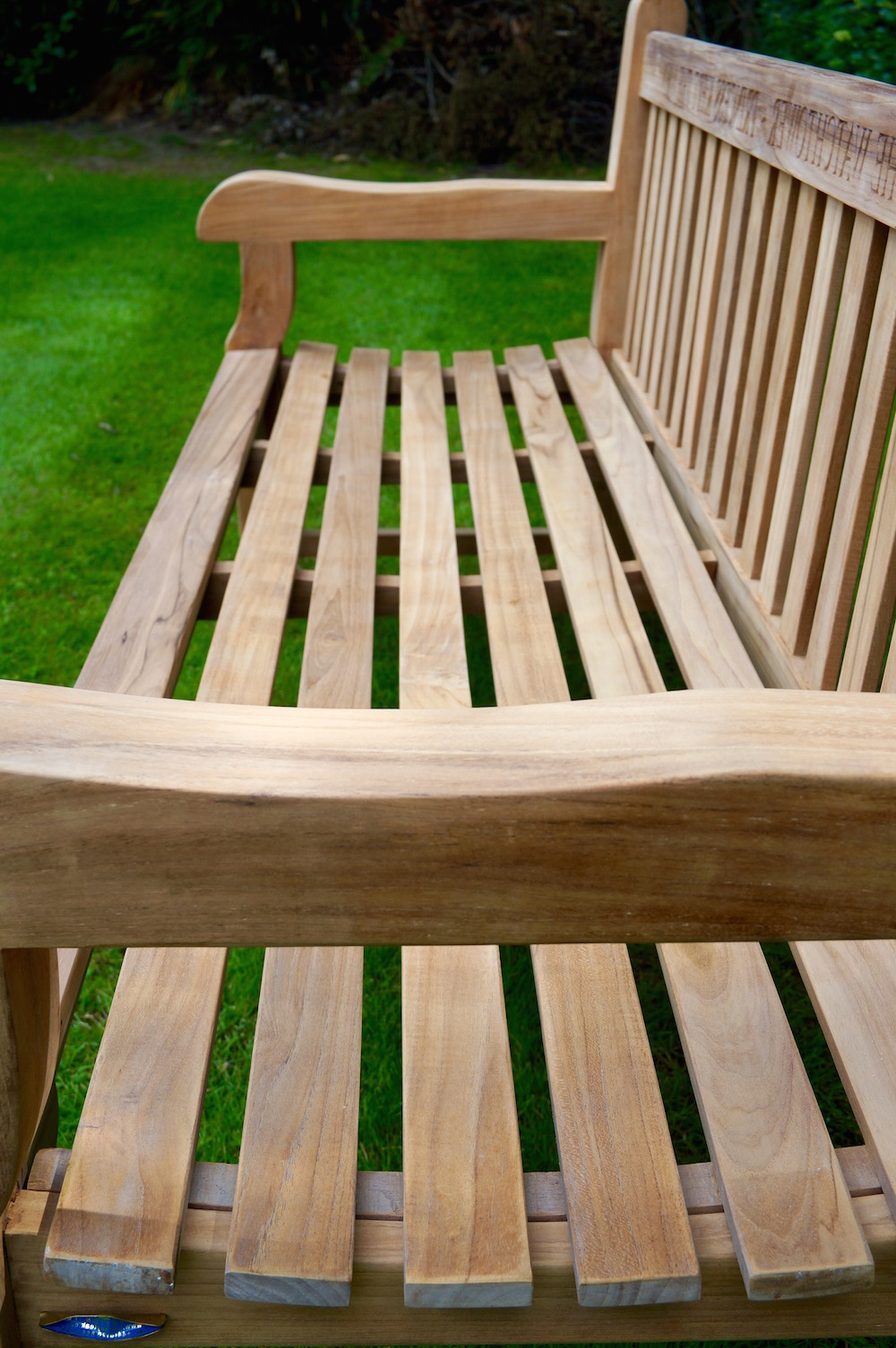Manchester Solid Wood Garden Benches Pertaining To Preferred Our Park Land Personalised Wooden Benches (View 27 of 30)