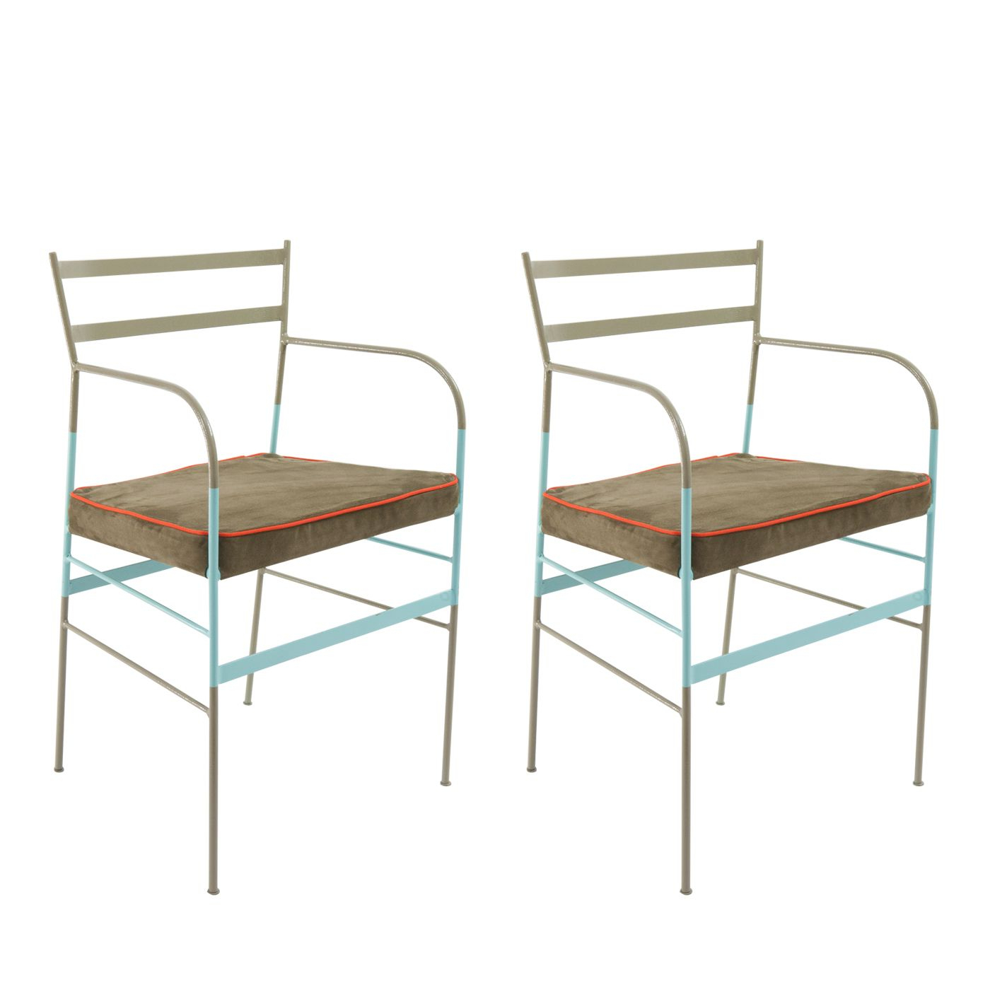 Messina Garden Stools Set (set Of 2) In Favorite Set Of 2 Paul Asti Chairs In (View 25 of 30)