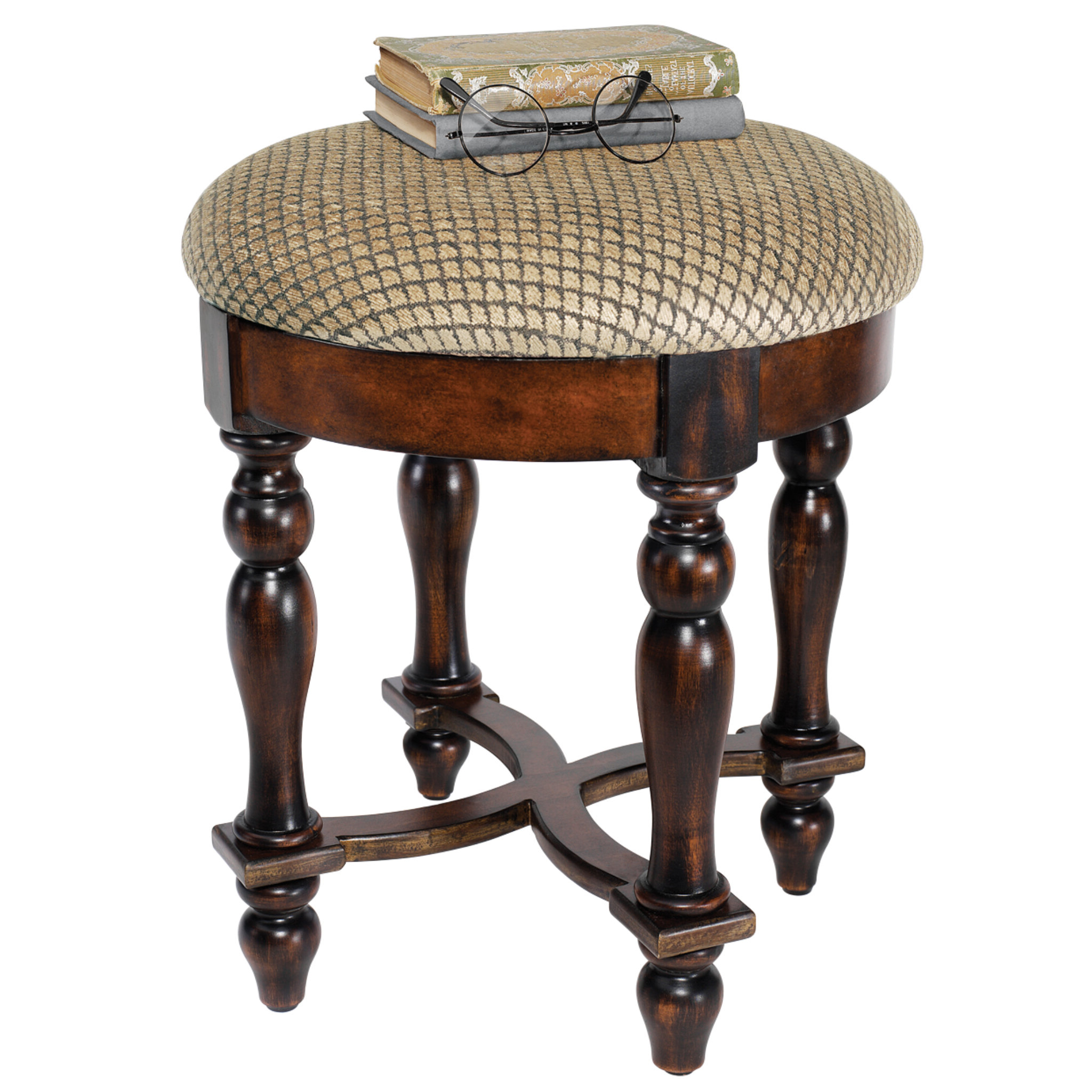 Middlet Owl Ceramic Garden Stools Within Well Known Grand Duchess Boudoir Accent Stool (View 24 of 30)