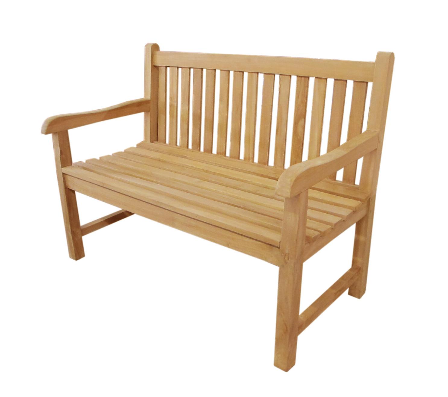 Most Current Gabbert Wooden Garden Benches With Regard To Garcia Teak Garden Bench (View 8 of 30)