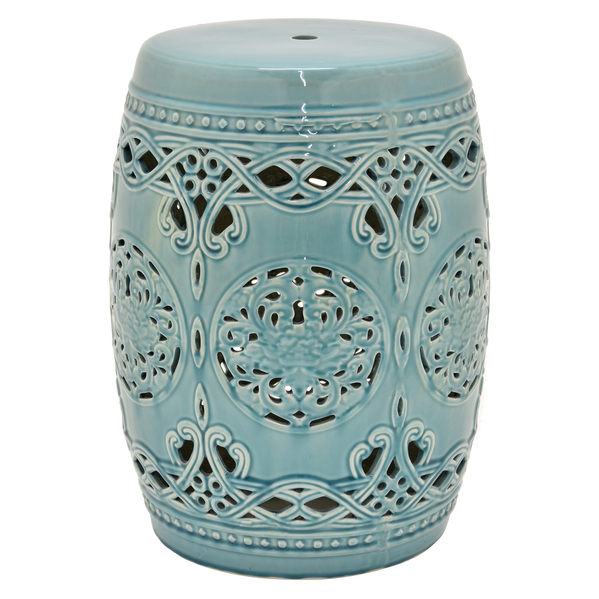Most Popular Caviness Garden Stool Pertaining To Amettes Garden Stools (View 5 of 30)
