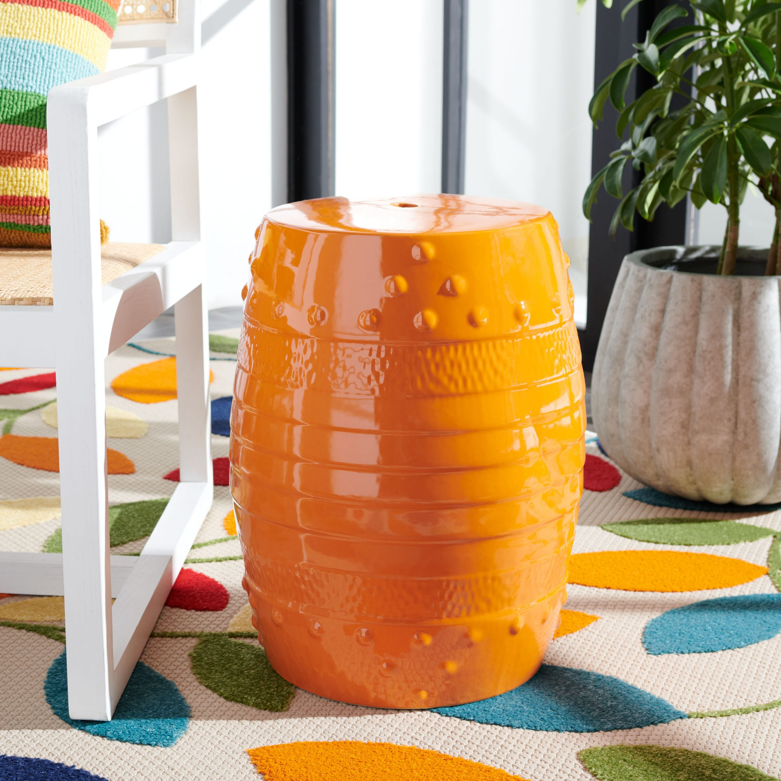 Most Popular Holbrook Ceramic Garden Stools Regarding Akinruntan Ceramic Garden Stool (View 27 of 30)