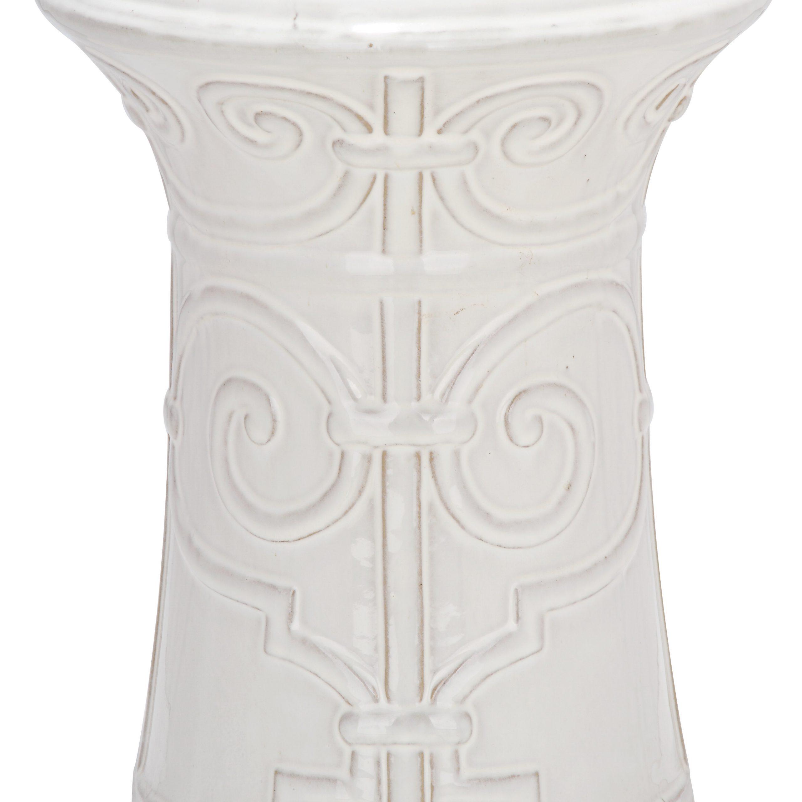 Most Popular Imperial Ceramic Garden Stool For Middlet Owl Ceramic Garden Stools (View 2 of 30)