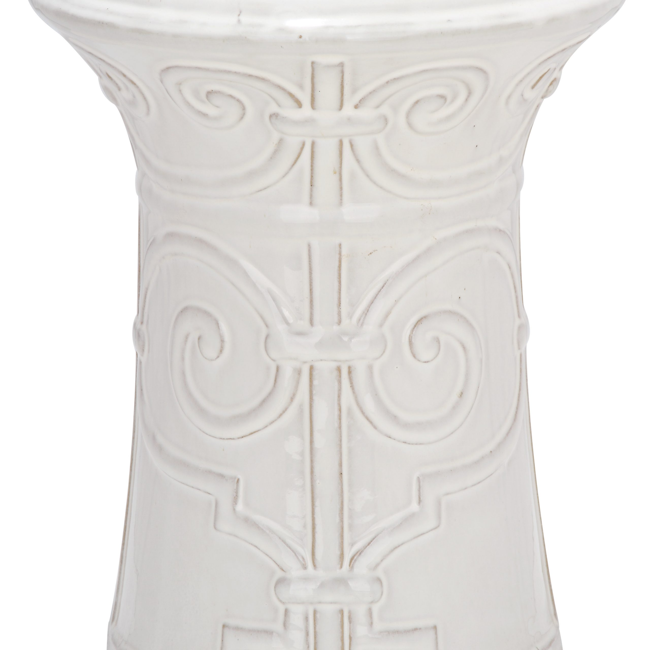 Most Popular Janke Floral Garden Stools With Regard To Imperial Scroll Ceramic Garden Stool (View 19 of 30)