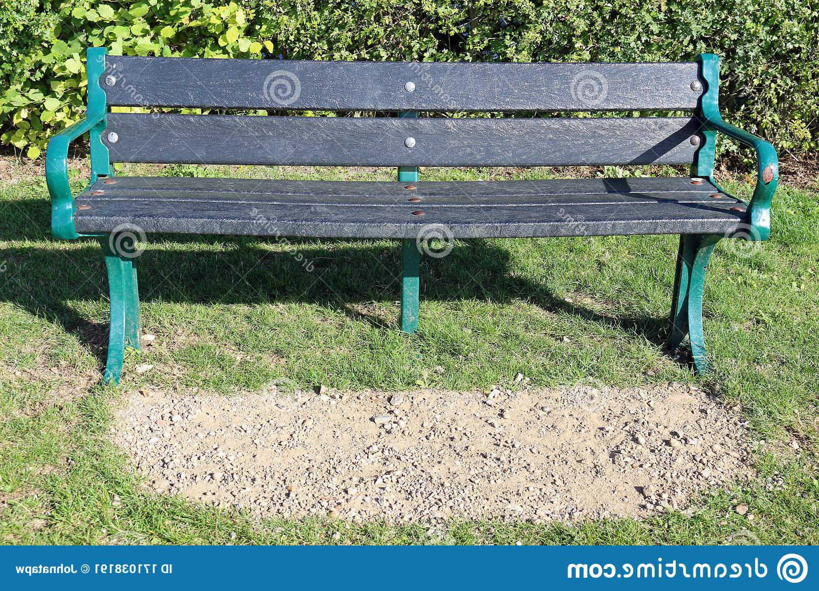 Most Popular Norrie Metal Garden Benches Inside Limestone Chippings Photos – Free & Royalty Free Stock (View 30 of 30)