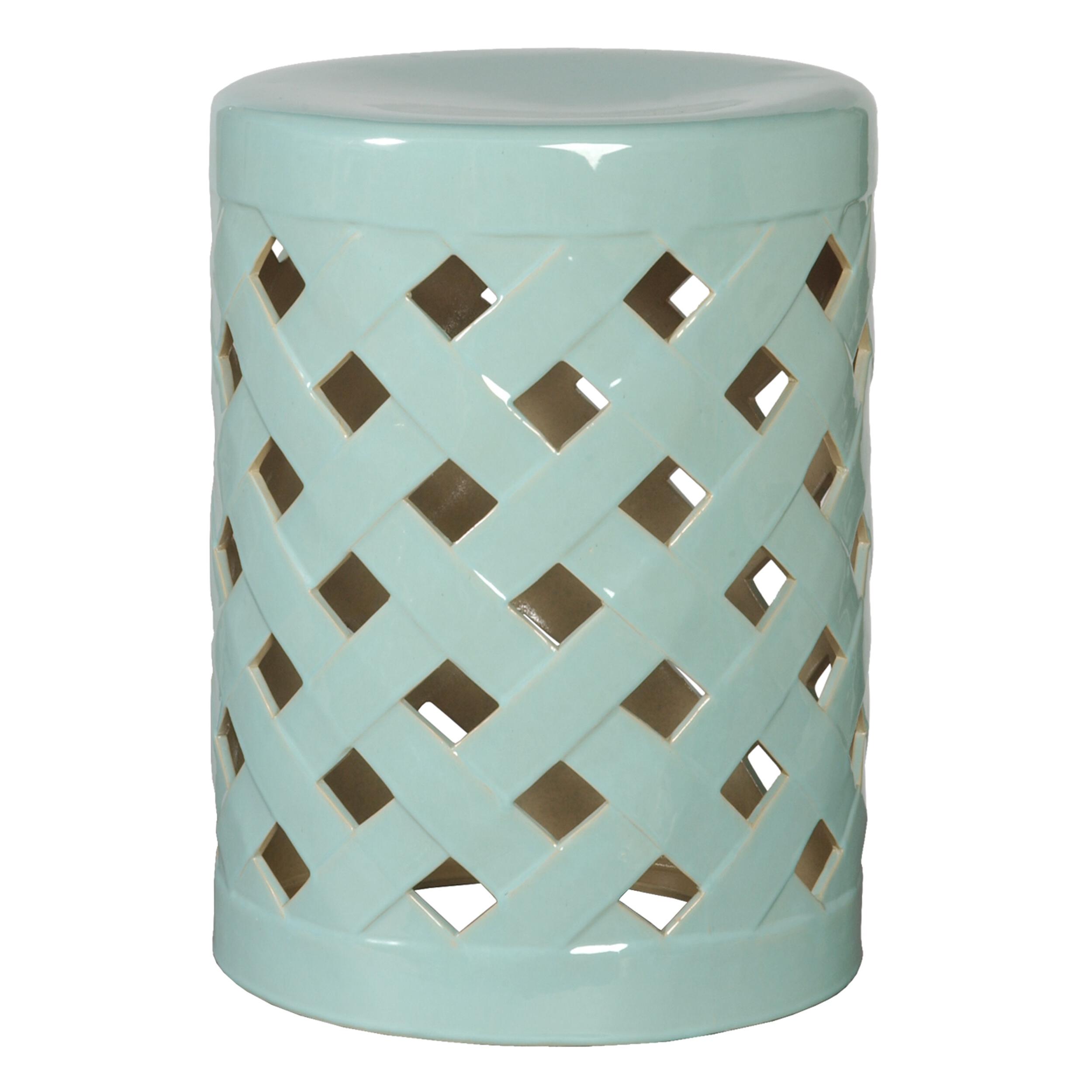 Most Popular Ormside Ceramic Garden Stool Inside Harwich Ceramic Garden Stools (View 7 of 30)