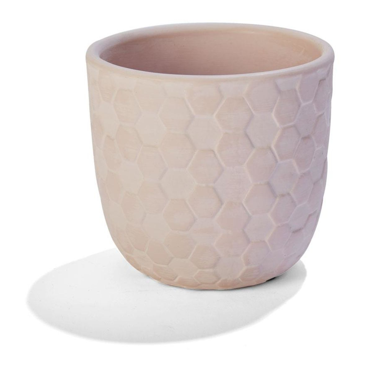 Most Recent Brode Ceramic Garden Stools In Honeycomb Pot Pink Home & Co (View 28 of 31)