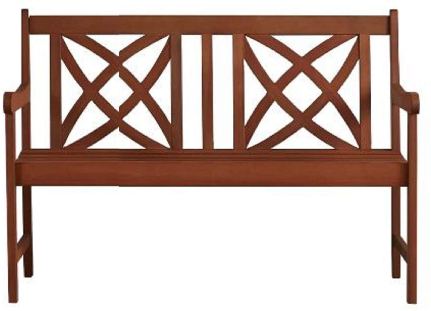 Most Recent Maliyah Wooden Garden Benches Pertaining To Outdoor Garden Metal Bench (View 5 of 30)