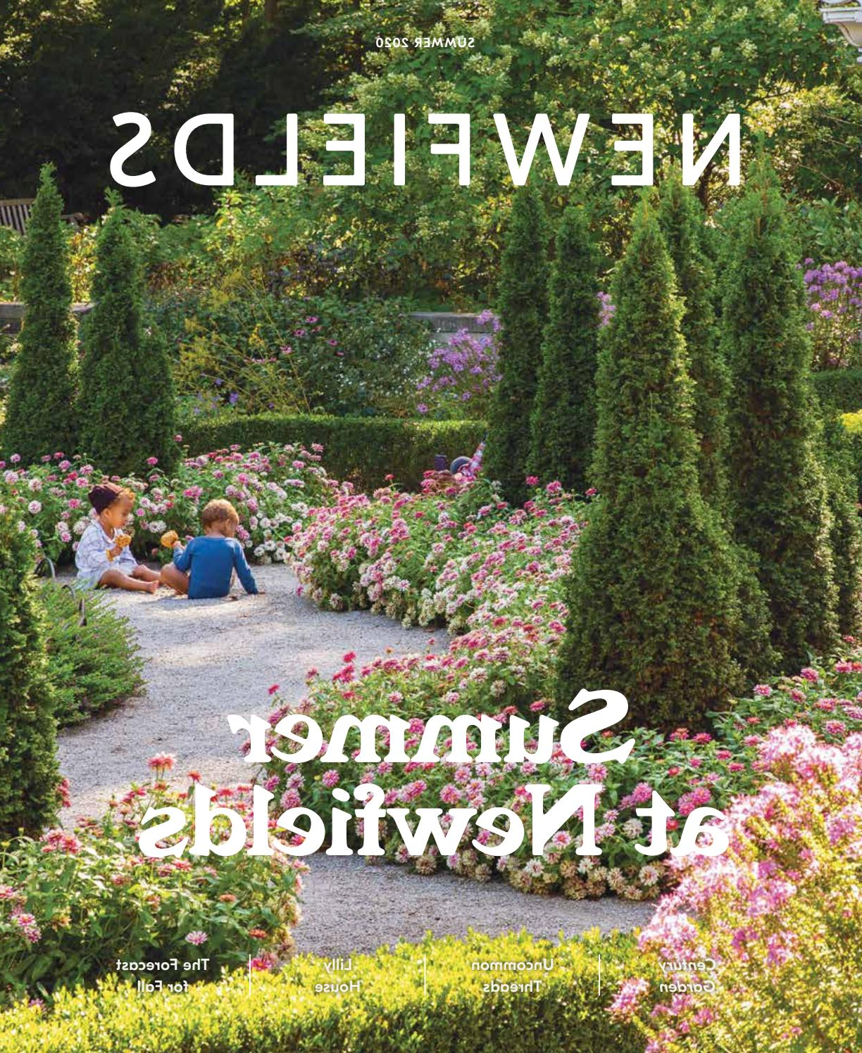 Most Recent Newfields Magazine Summer 2020newfields – Issuu Intended For Irwin Blossom Garden Stools (View 25 of 30)