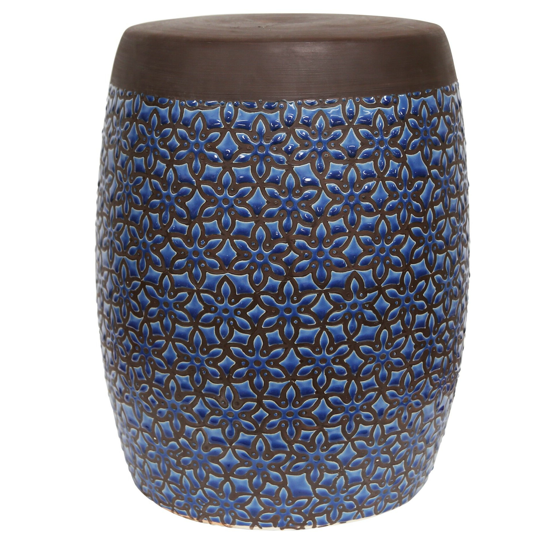 Most Recently Released Kujawa Ceramic Garden Stools Inside Zabel Ceramic Garden Stool (View 4 of 30)