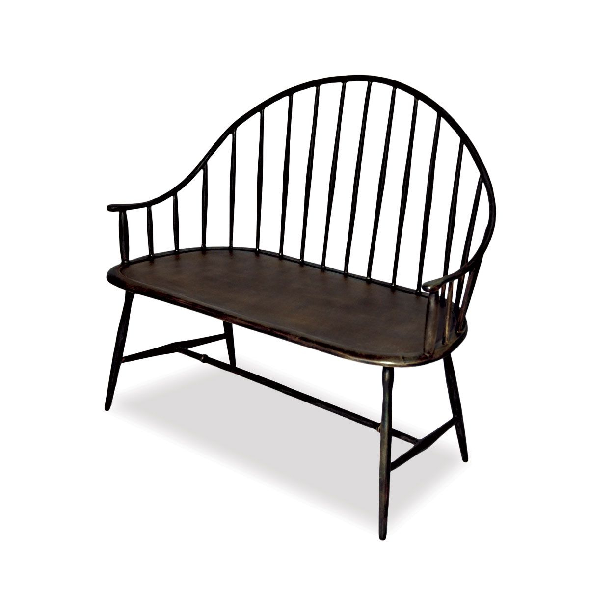Most Up To Date Cast Aluminum Outdoor Settee (View 23 of 30)