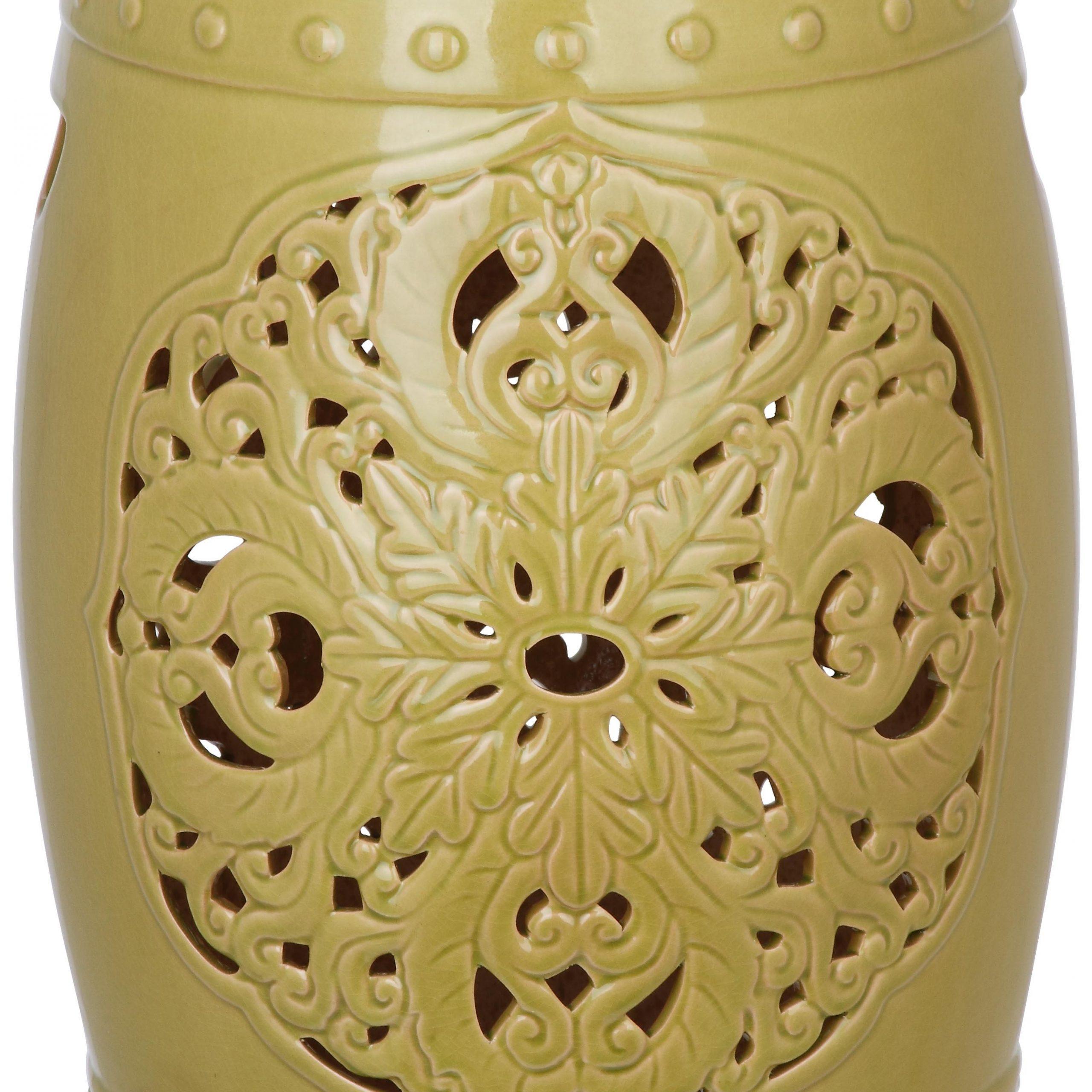Nagle Ceramic Garden Stool In Popular Amettes Garden Stools (View 18 of 30)
