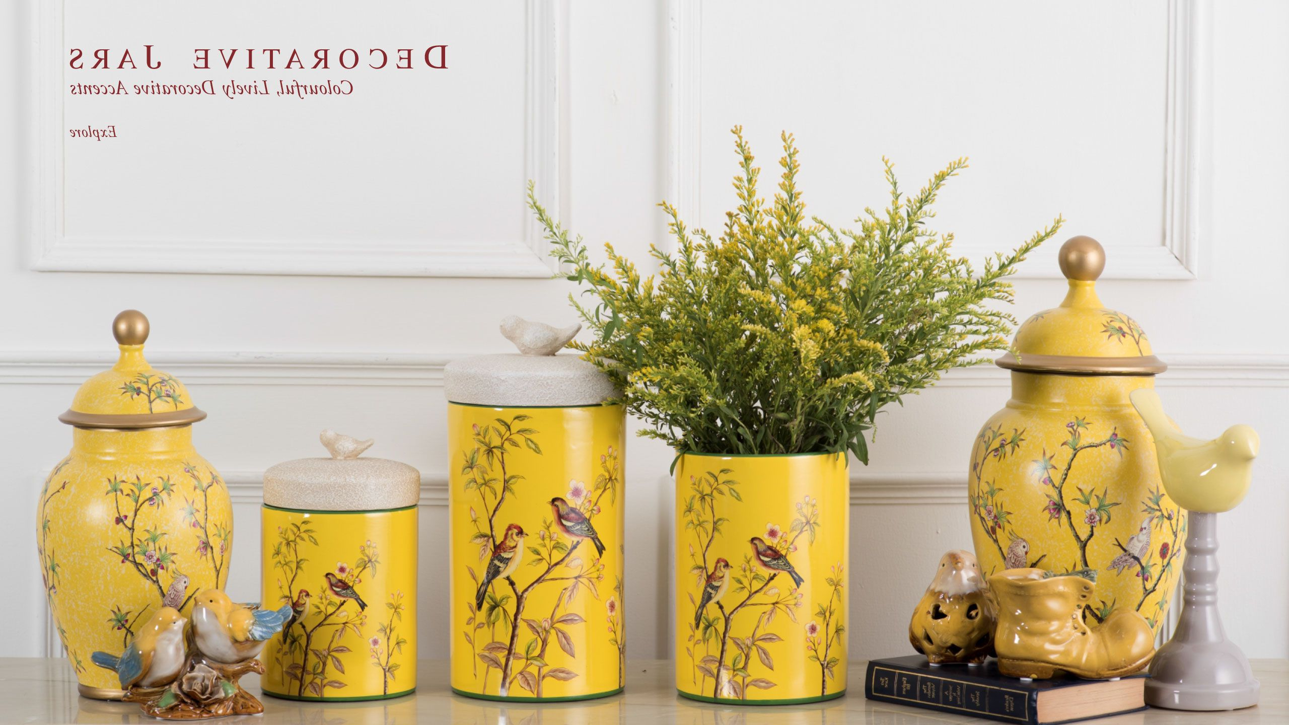 Newest Ceramic Stools Have Become A Popular Decorating Accessory Intended For Maci Tropical Birds Garden Stools (View 17 of 30)
