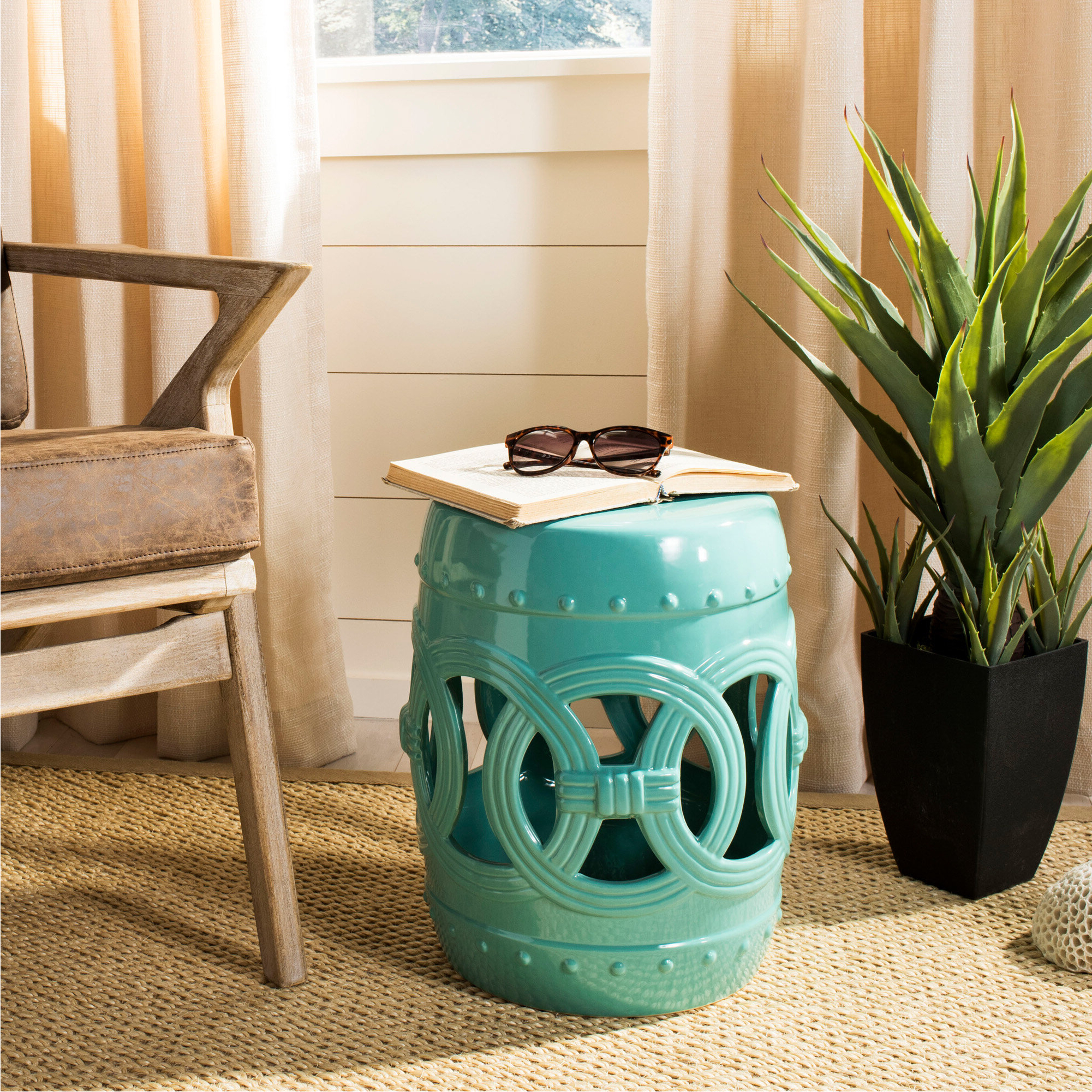 Newest Holbrook Ceramic Garden Stool In Holbrook Ceramic Garden Stools (View 2 of 30)