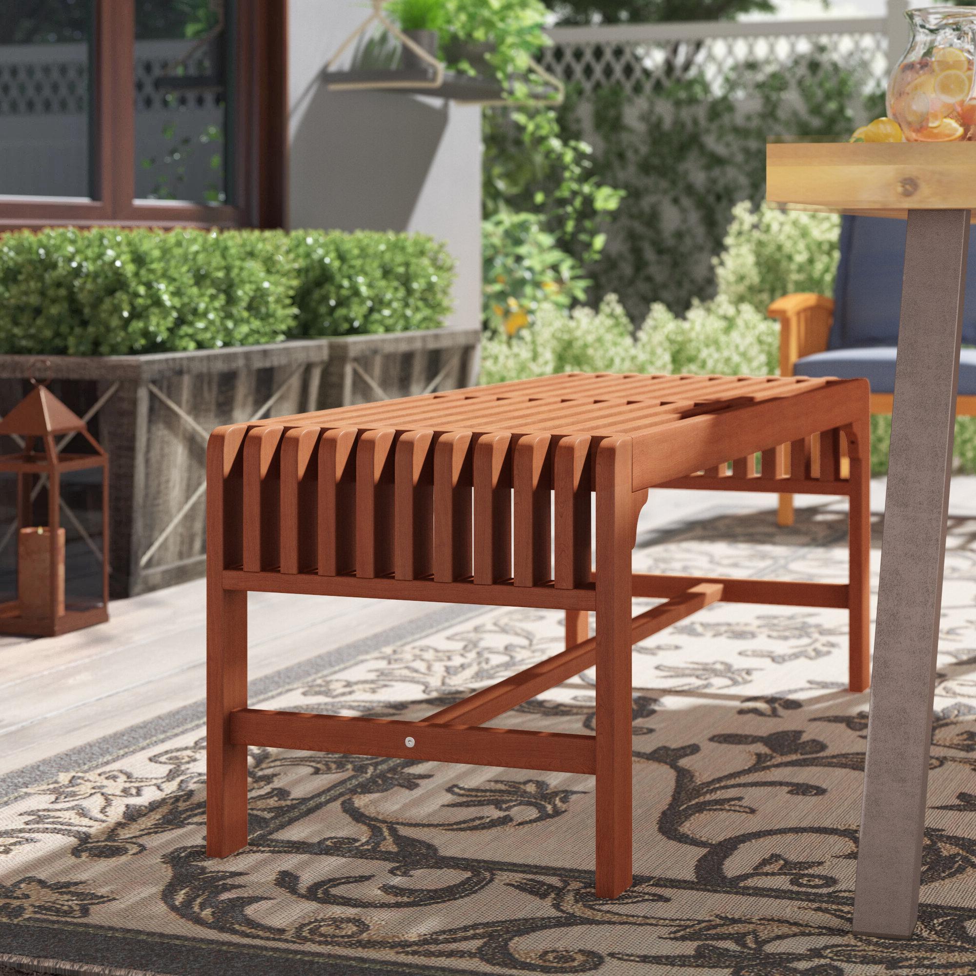 Newest Krystal Ergonomic Metal Garden Benches With Bradlec Rattan Garden Bench (View 17 of 30)
