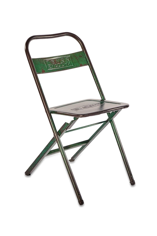 Nkuku Ishan Reclaimed Folding Chair Regarding Latest Ishan Steel Park Benches (View 20 of 30)