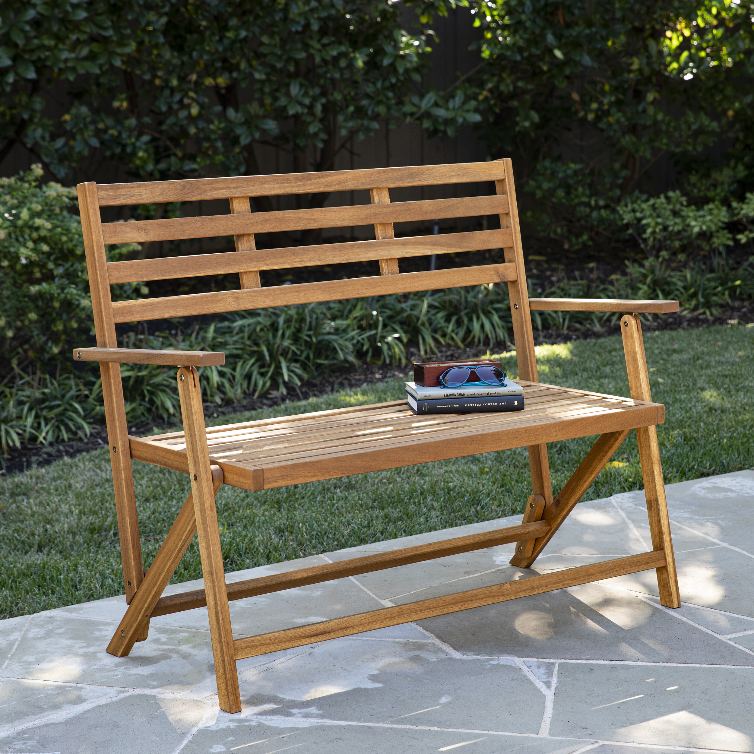 Norrie Metal Garden Benches For 2019 Ballidon Outdoor Wooden Garden Bench (View 16 of 30)