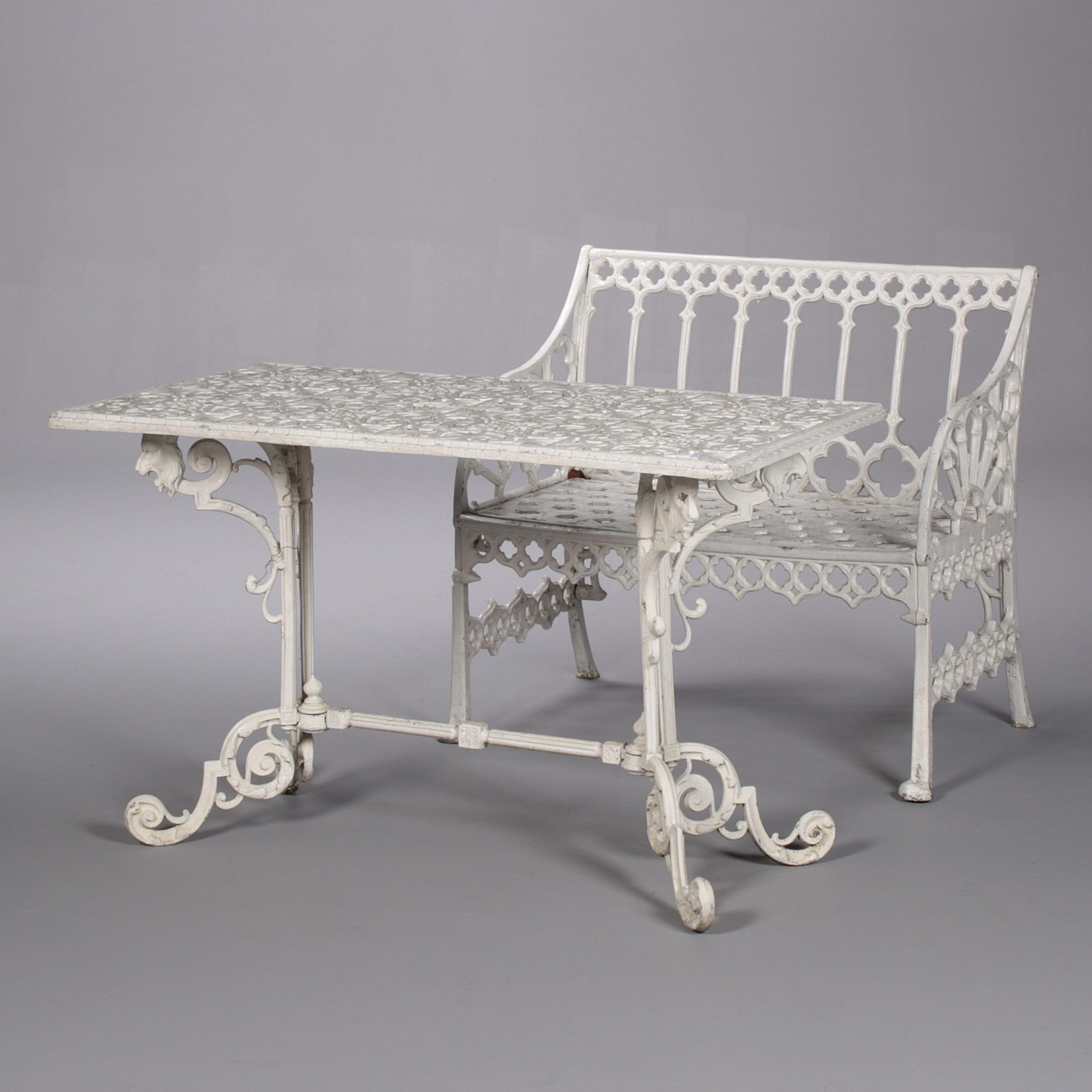 Norrie Metal Garden Benches With Favorite Auction – The Henley Sale At 21. (View 24 of 30)