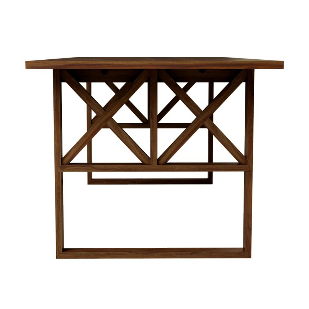 Nova Wooden Dining Table – Truwud Inside Preferred Cavin Garden Benches (View 22 of 30)