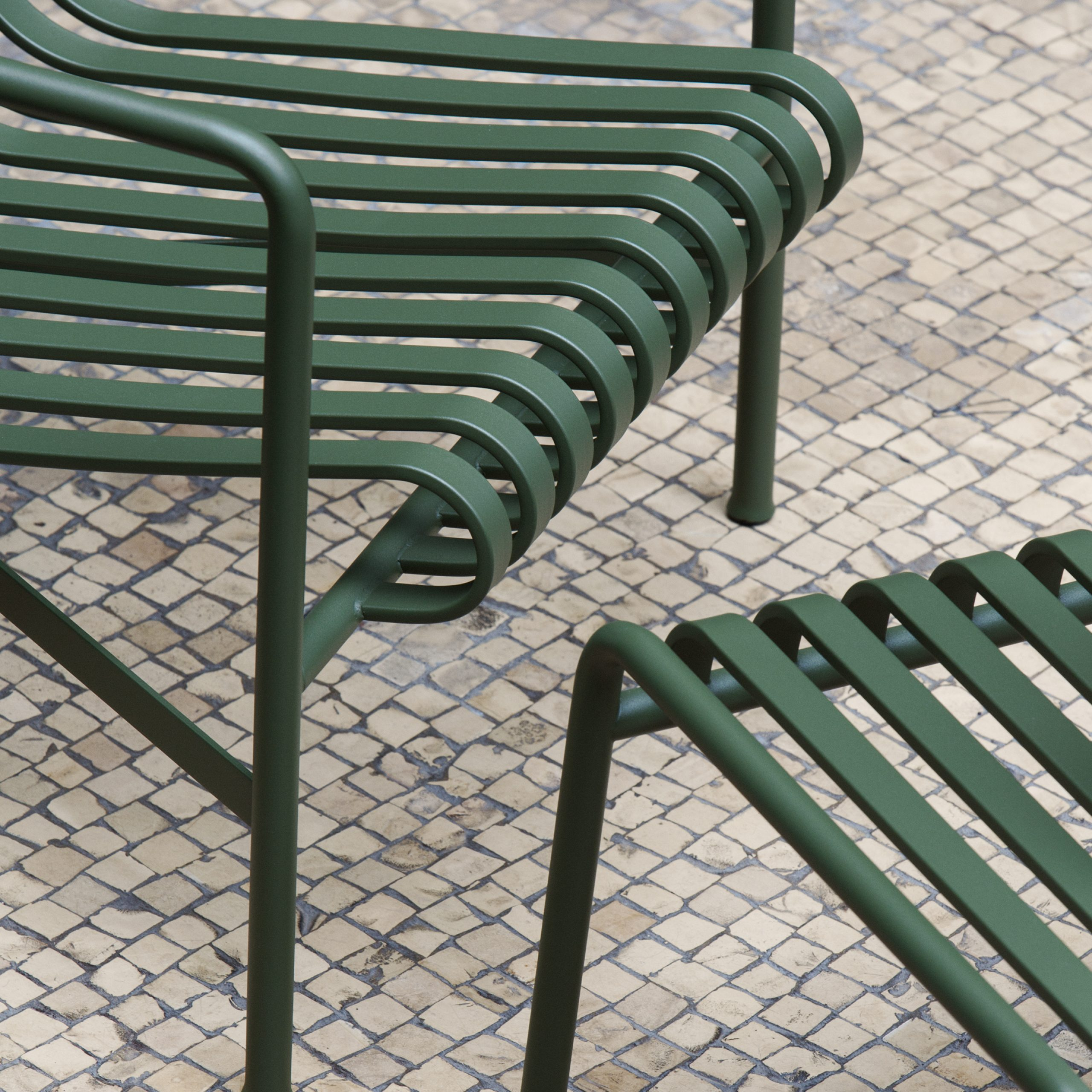Outdoor Furniture: Metal Lawn Chairs Made Modern – Gardenista Throughout 2019 Michelle Metal Garden Benches (View 14 of 30)