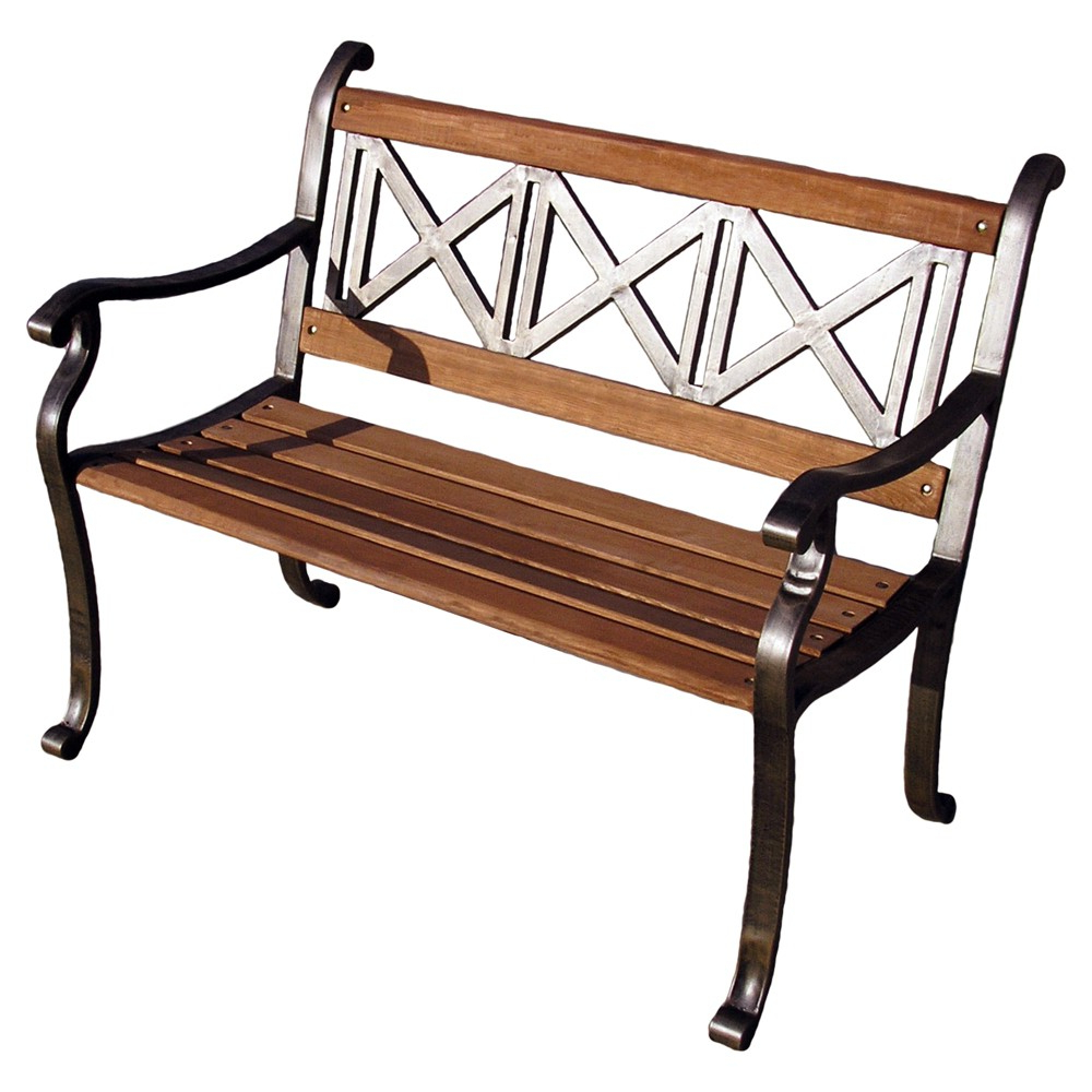 Patio Furnishings For Most Popular Guyapi Garden Benches (View 10 of 30)
