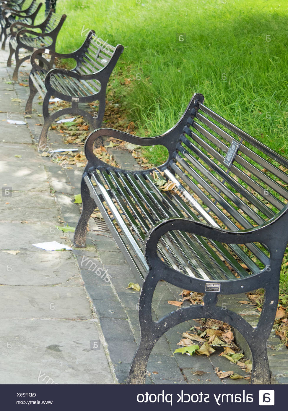 Pauls Steel Garden Benches Within Most Recently Released Page 3 – Park Benches High Resolution Stock Photography And (View 30 of 30)